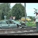 Zderzenie pociągu z samochodem (POLSKA)