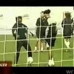 C. Ronaldo kontra Ronaldinho