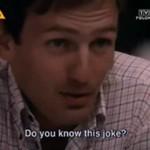 Pierwszy telewizyjny żart Karola Strasburgera