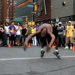 Zachwycający uliczny pokaz