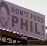 """""""Nie karmić Phila!"""""""
