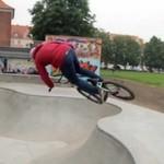 Marcin Oskiera - polski wymiatacz skateparkowy