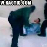 Rosyjska policja kontra podejrzany