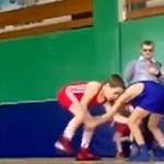 Freestyle małych wrestlerów