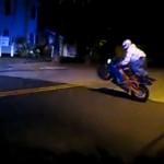 Motocyklista odnalazł swoich fanów