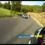 Wypadek okiem kierowcy motocykla