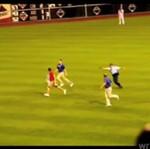 Kibice wbiegają na boisko - KOMPILACJA!