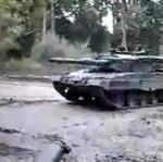 Driftujący czołg - ODLOT!