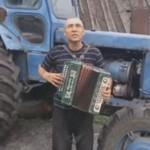 ROSJA - wpadki z udziałem traktorów