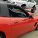 Stłuczka z Lamborghini