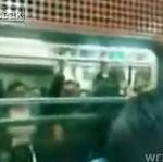Tłok w nowosybirskim metrze