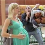 Stara kobieta w ciąży