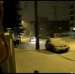 Drifting na śniegu - zaczeło się...