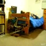 Łóżko, w którym na pewno nie zaśpisz...