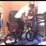 Rowerem na bieżni!?