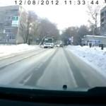 Zimowe wypadki- uważajcie na drogach!