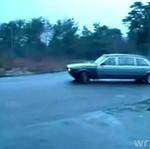 Drifting limuzyną!