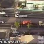 Nieostrożny kierowca prawie zabił dwójkę dzieci