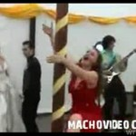 Weselny taniec na rurze - PRZESADZIŁA!!!