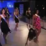 Wpadka na konkursie miss!