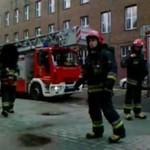 Strażak szczuje przechodnia policją!