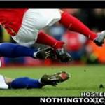 Złamana noga Eduardo da Silvy!