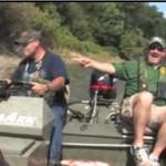 Cudowna rzeka- tu ryby łowią się same!