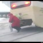 Przejażdżka tramwajem w Rosji - HIT INTERNETU!