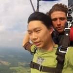 Zemdlał podczas skoku ze spadochronem!