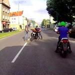 Debil na motorze - Tychy 12.07.2014