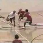 Jednoręki wirtuoz basketu