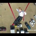 Akrobacje KILKASET metrów nad ziemią!
