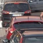 Test odległości na parkingu