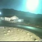 PRZEPIĘKNY eksplodujący meteoryt!