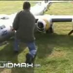 Największy zdalnie sterowany model samolotu (rekord)!