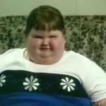 Pięcioletnie dziecko z nadwagą