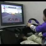 Najmłodszy na świecie kierowca wyścigowy!