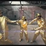 Złote crew tańczy dubstep
