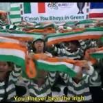 Dzieci dopingują irlandzkich piłkarzy - MEGA!