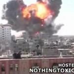 Masywna eksplozja w Strefie Gazy