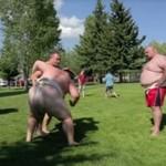 Kobiecy wojownicy sumo