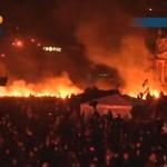 Tymczasem na UKRAINIE - Euromajdan PŁONIE!!!