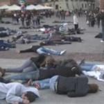 Świetny flash mob w Warszawie!