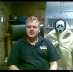 Uniwersalny przestraszacz biurowy