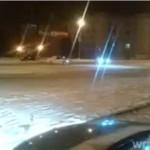 Drifting na śniegu!