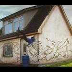 Dom w graffiti - PIĘKNE!