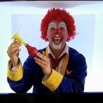 Straszny klaun w 3D