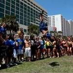 Niezwykły pokaz cheerleaderek