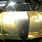 Złote auto - chciałbyś takim jeździć?