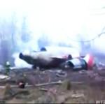 Nowe nagranie z miejsca katastrofy w Smoleńsku!